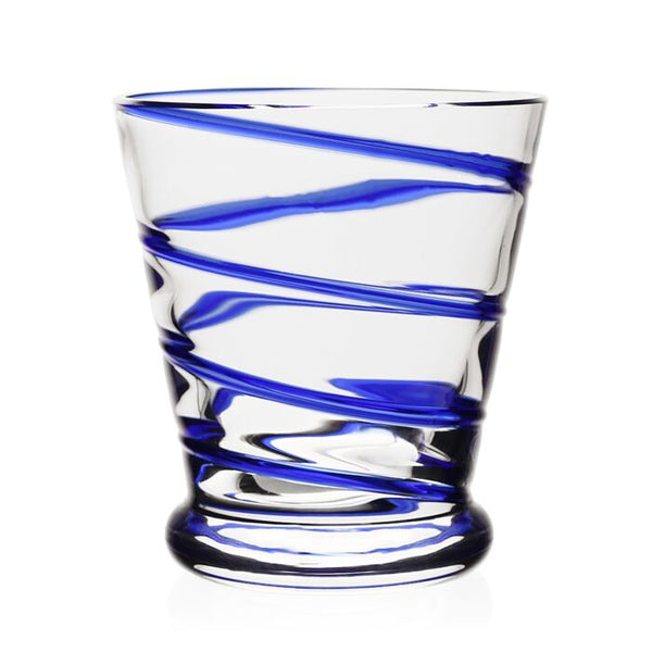 William Yeoward Crysal Bella Old Fashioned Tumbler, Blue