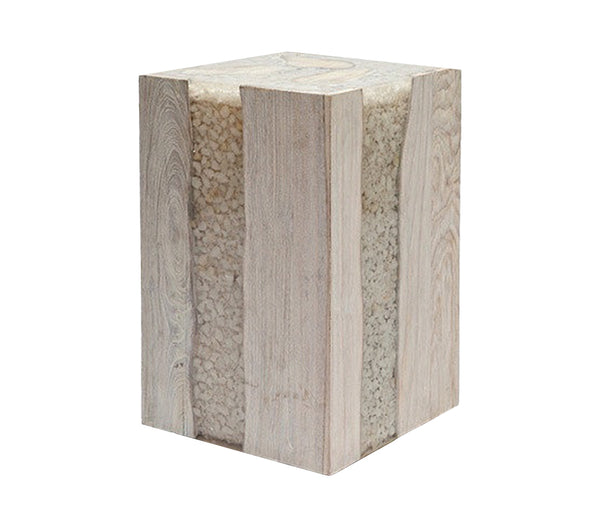 River Stone Accent Table