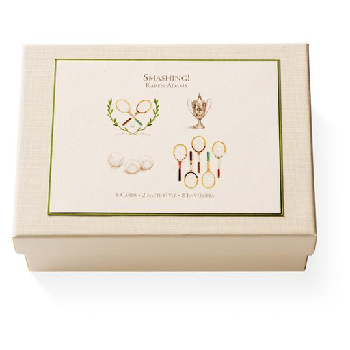 Karen Adams Smashing Note Card Box, Set of 8