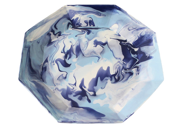 Paul Schneider Octagon Blue Geode Tray