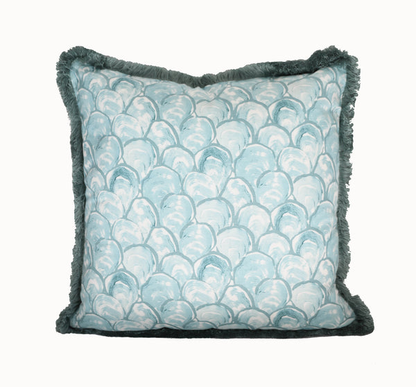 Oyster Scallop Pillow