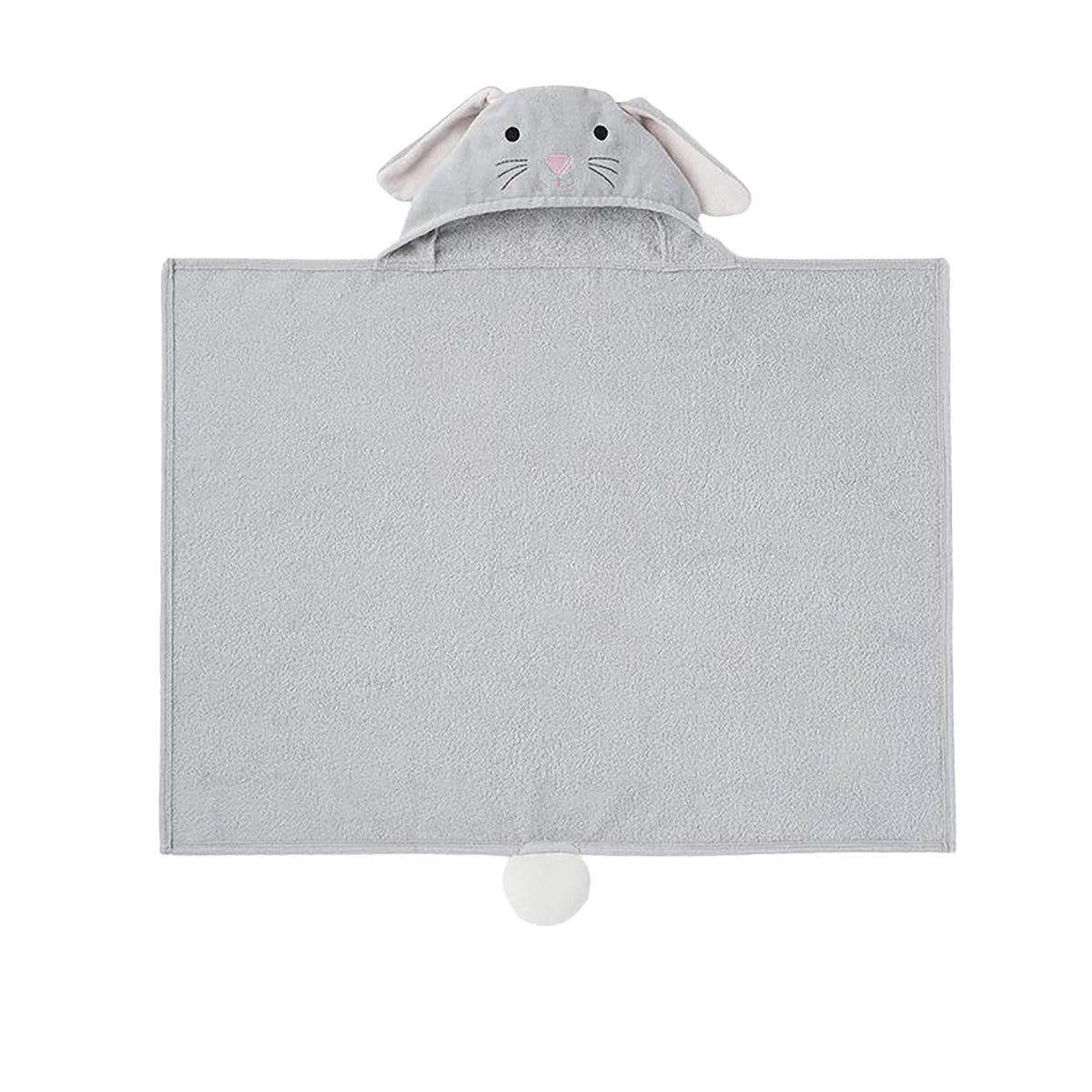 Bunny Hooded Bath Wrap