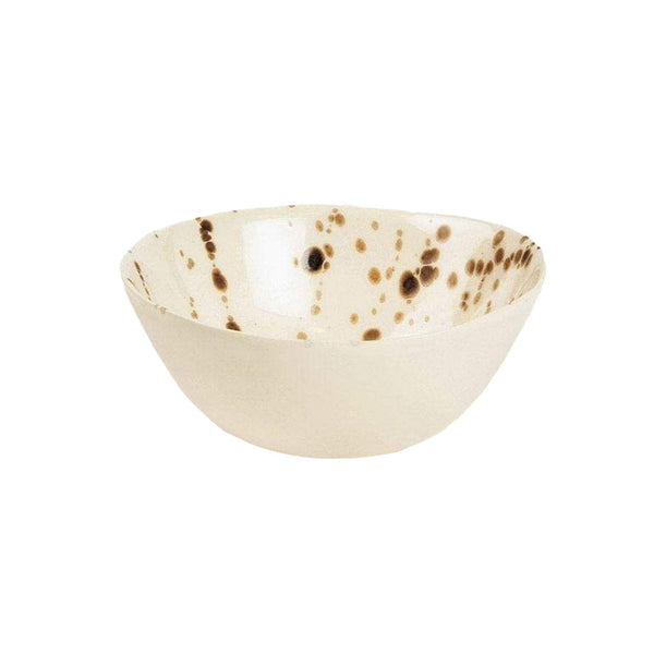 Delaney Bronze Splatter Cereal/Ice Cream Bowl