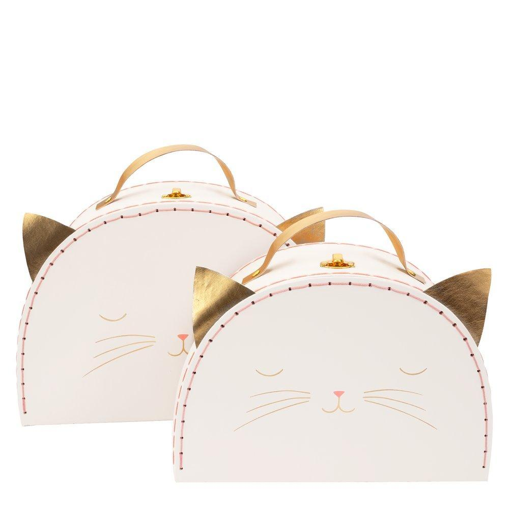 Meri Meri Cat Suitcase, Small