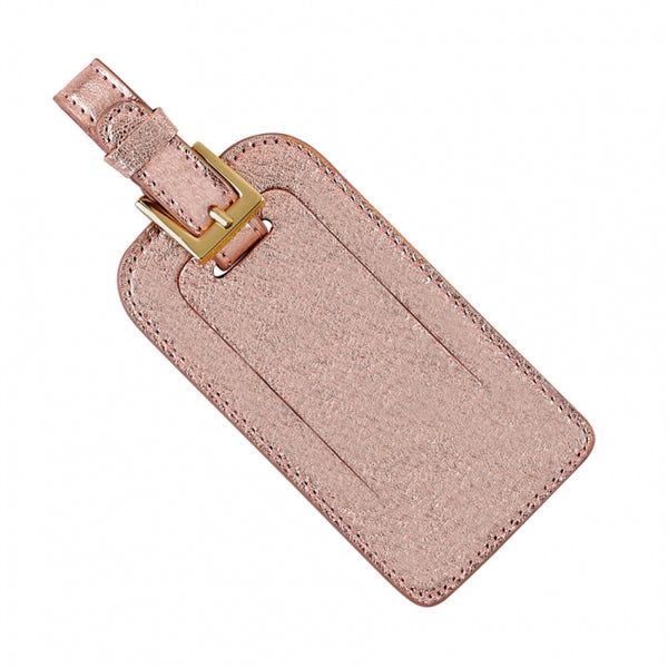 Luggage Tag, Rose Gold