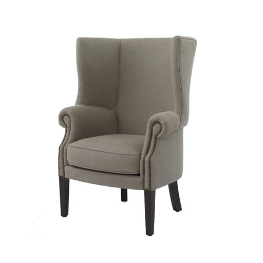 kelso chair in ashford linen velvet