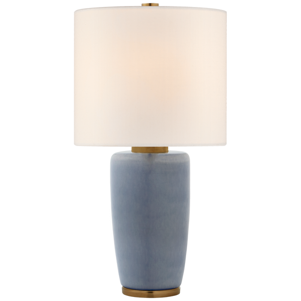 Chado Large Table Lamp, Polar Blue Crackle