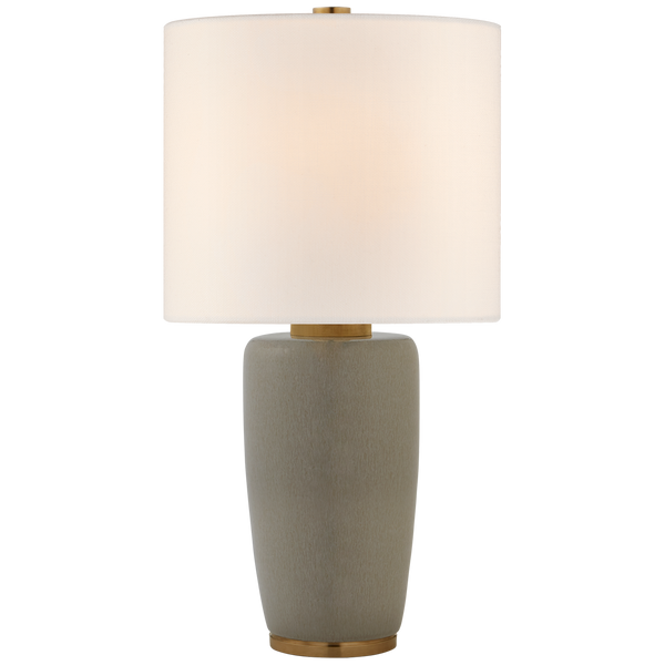 Chado Large Table Lamp, Shellish Gray
