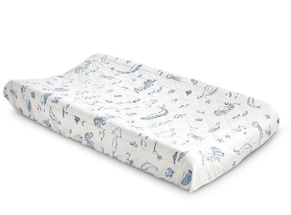 Pehr Cotton Changing Pad Cover
