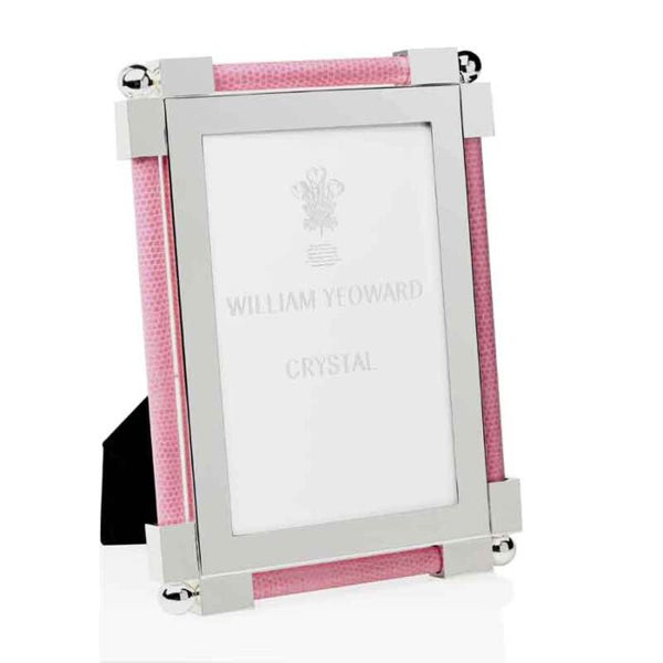 william yeoward crystal shagreen pink frame