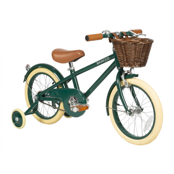Classic Children's Bicycle, Green