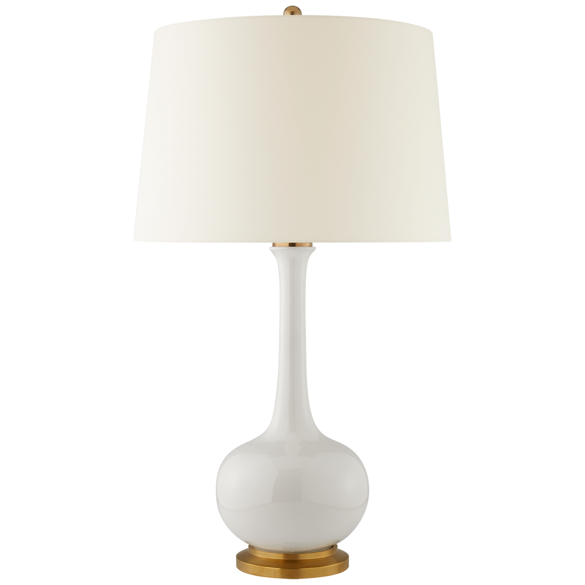 Coy Large Table Lamp, Ivory