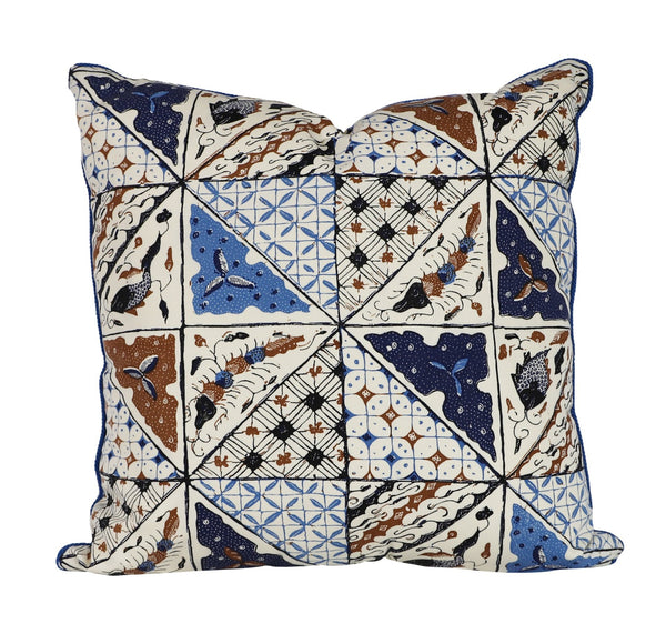 sunny jim batik outdoor pillow