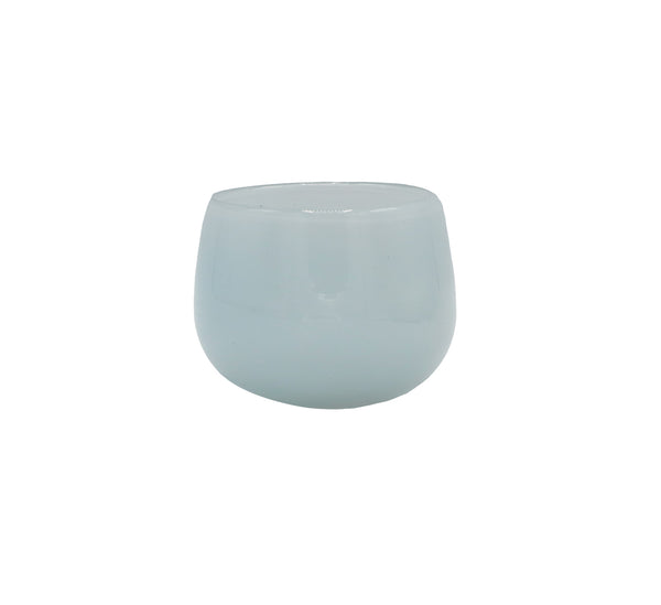 mini pot in pale blue