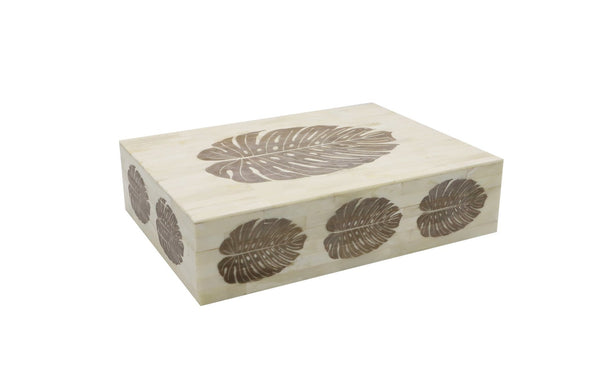 Etched Bone Box, Large
