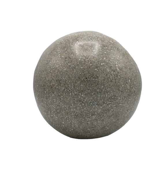 abalone concrete ball, large