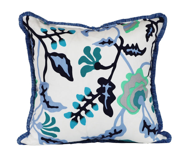 potalla multi blue outdoor pillow