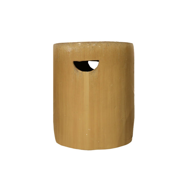 Cylinder Stool in Latte