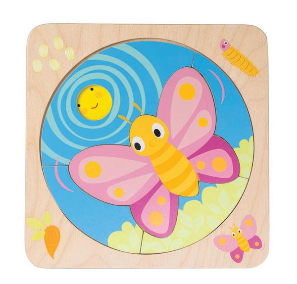 Butterfly Life Puzzle