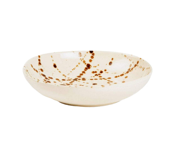 Delaney Bronze Splatter Pasta/Soup Bowl