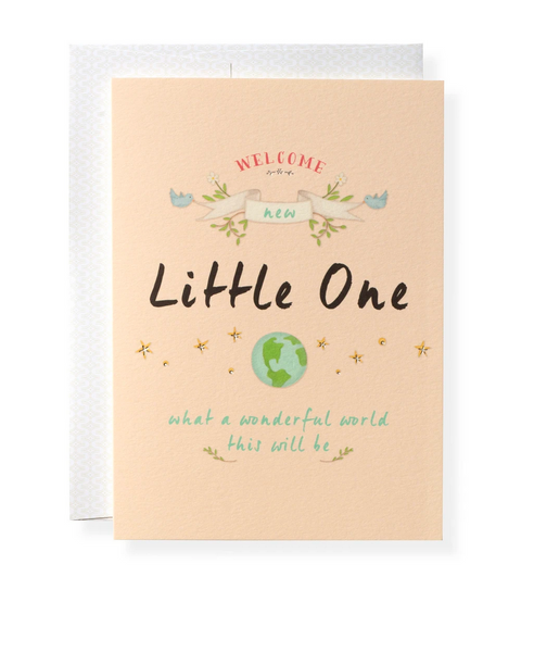 Karen Adams Greeting Card - Baby, Little One