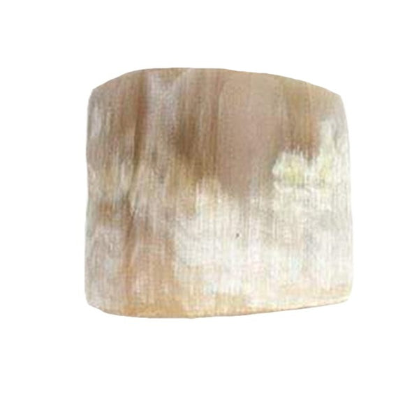 James Natural Horn Napkin Rings