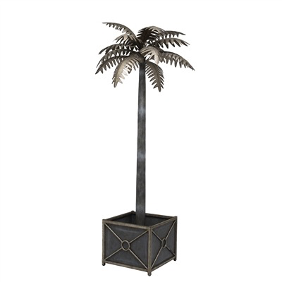 Patina Finish Palm Tree