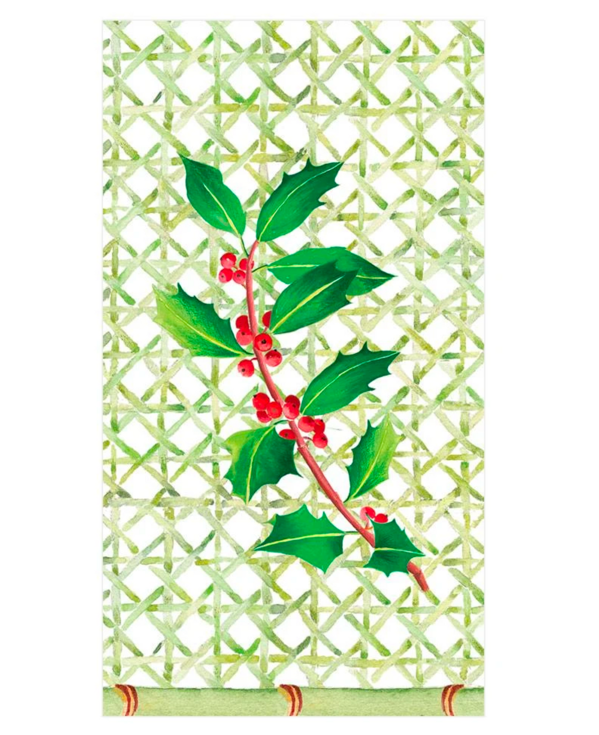 Holly Trellis, Guest Towels