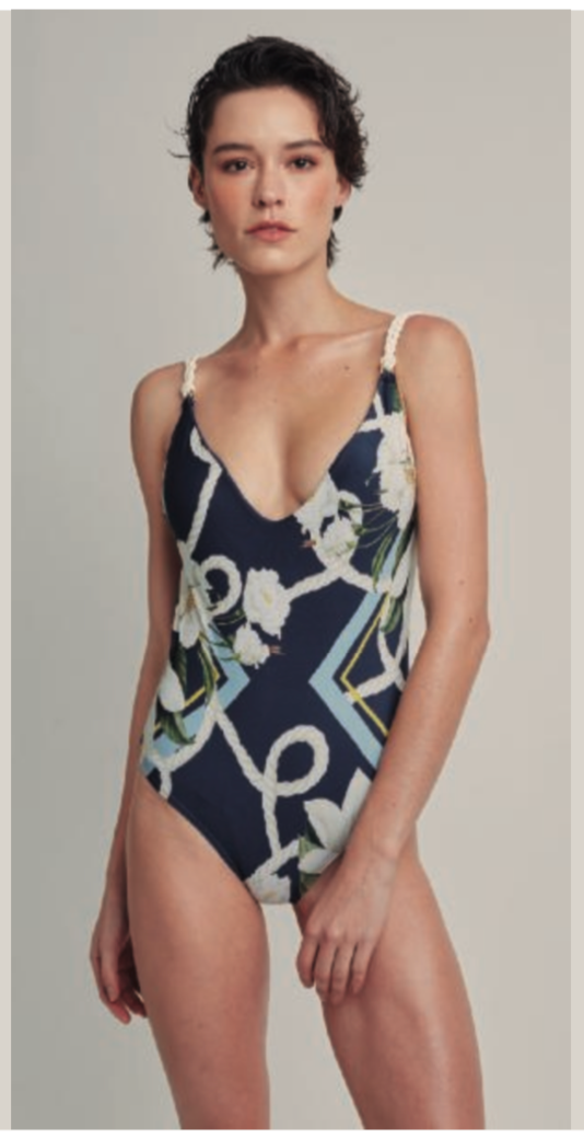 Lenny Niemeyer Basic Rope One Piece Swimsuit