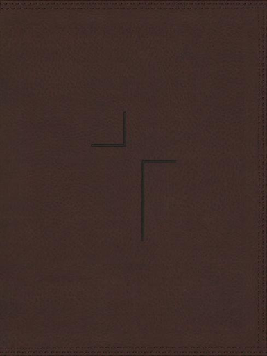 NIV Jesus Bible Leathersoft Brown