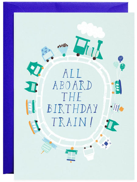 All Aboard The Birthday Train