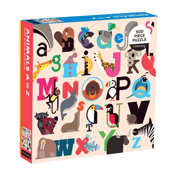 Animals A-Z Puzzle