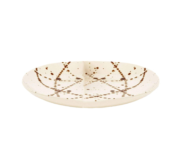 Delaney Bronze Splatter Dinner Plate