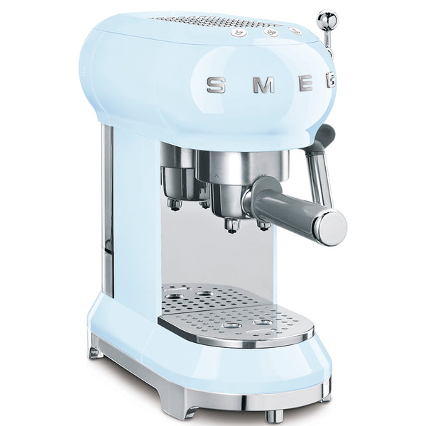 SMEG Espresso Machine, Pastel Blue