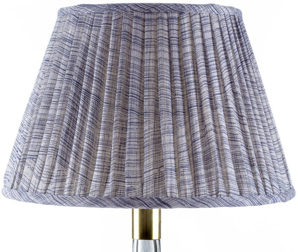 Fermoie Wave Lamp Shade in Indigo