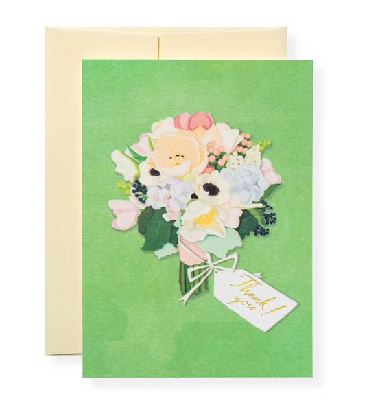 Karen Adams Greeting Card - Thank You, Thanks a Bunch