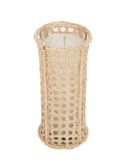 Raffia Votive Holder, Large