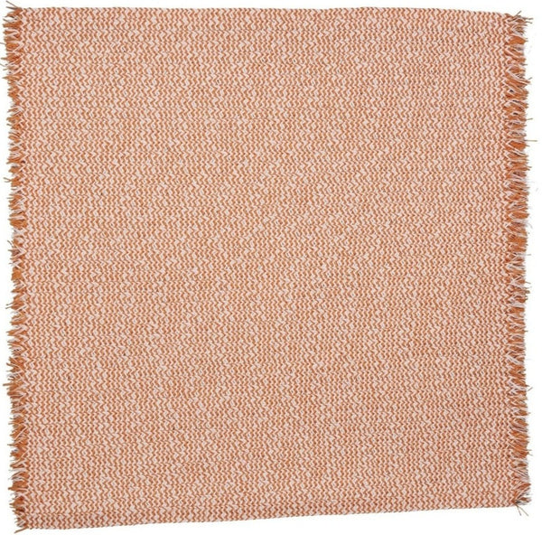 Tweed Fringe Square Placemats