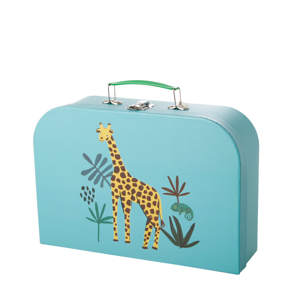 Jungle Animal Suitcase, Large Giraffe
