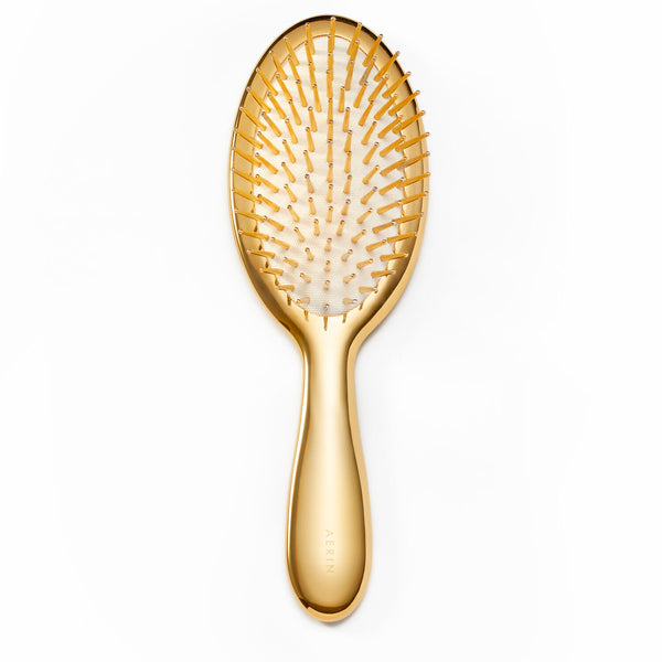AERIN Large Gold Hairbrush