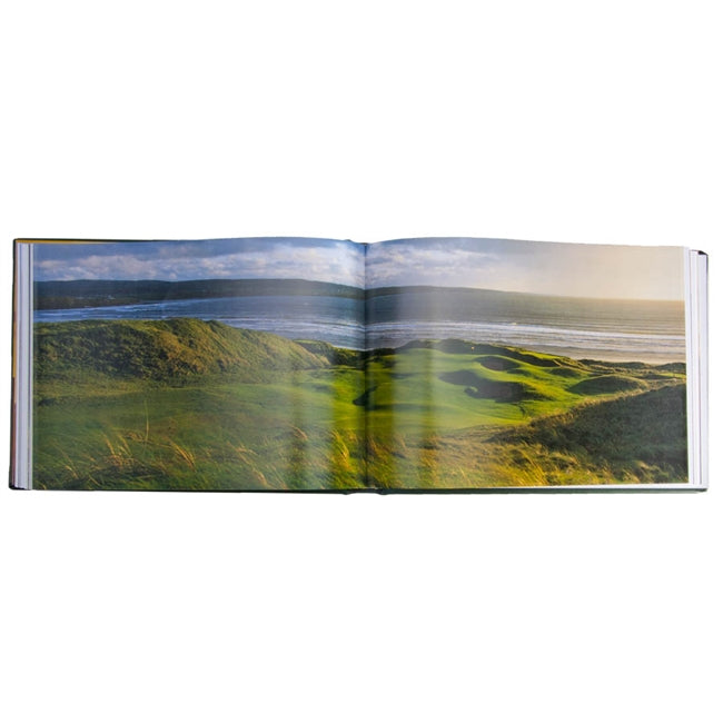 Golf Courses Leather Book