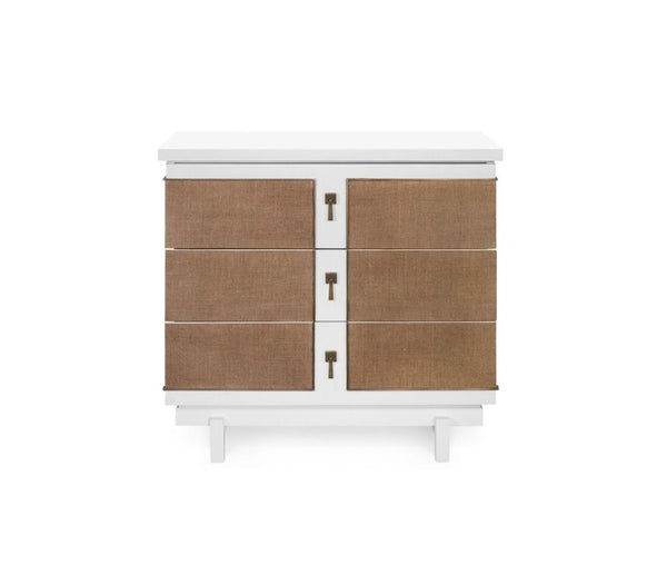 Grant 3 Drawer Side Table