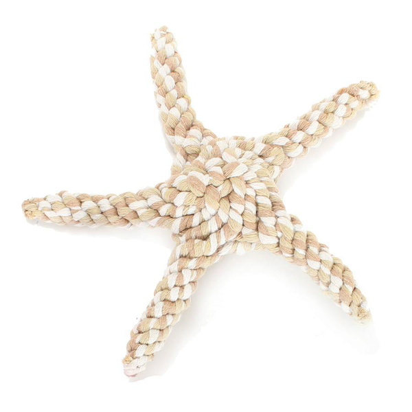 Tan Starfish Rope Toy