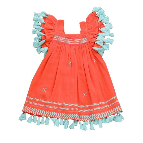 Mer St. Barth Girls' Serena Dress