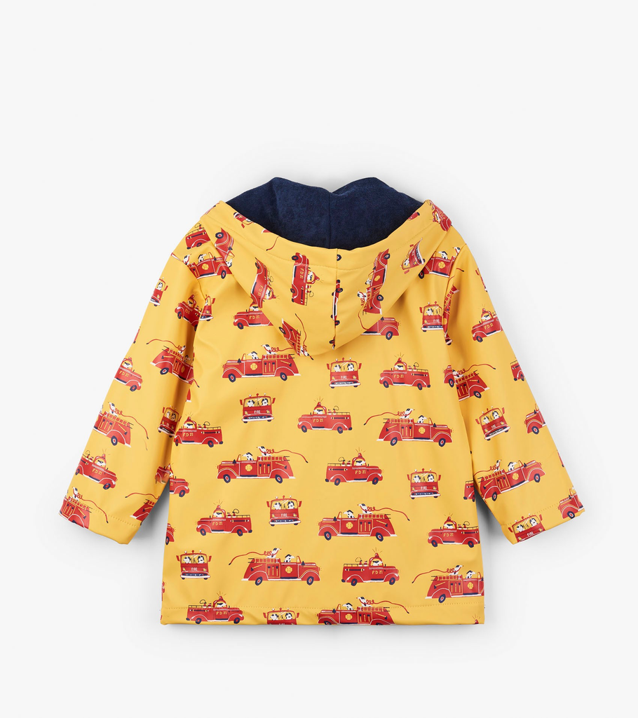 Vintage Fire Trucks Raincoat