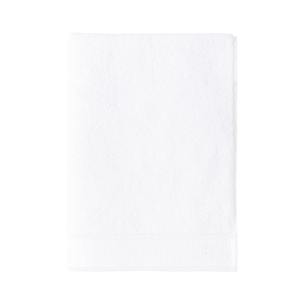 Flandre Bath Towel Collection, Blanc