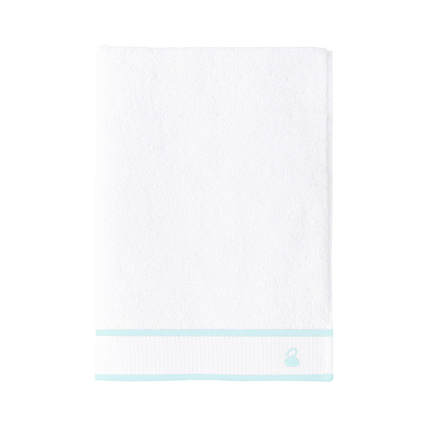 Yves Delorme Flandre Bath Towel Collection, Aqua