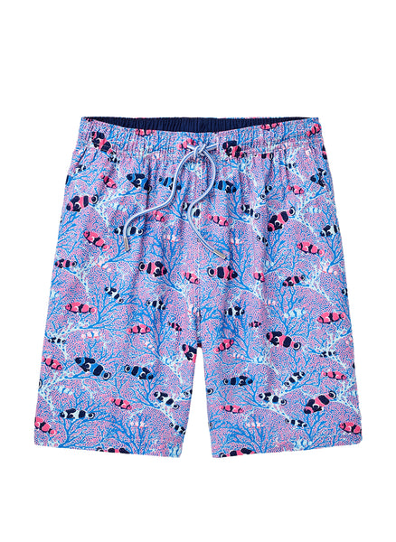 Peter Millar Friends & Anemones Swim Trunk