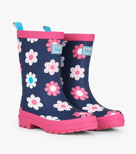 Spring Flowers Rain Boots