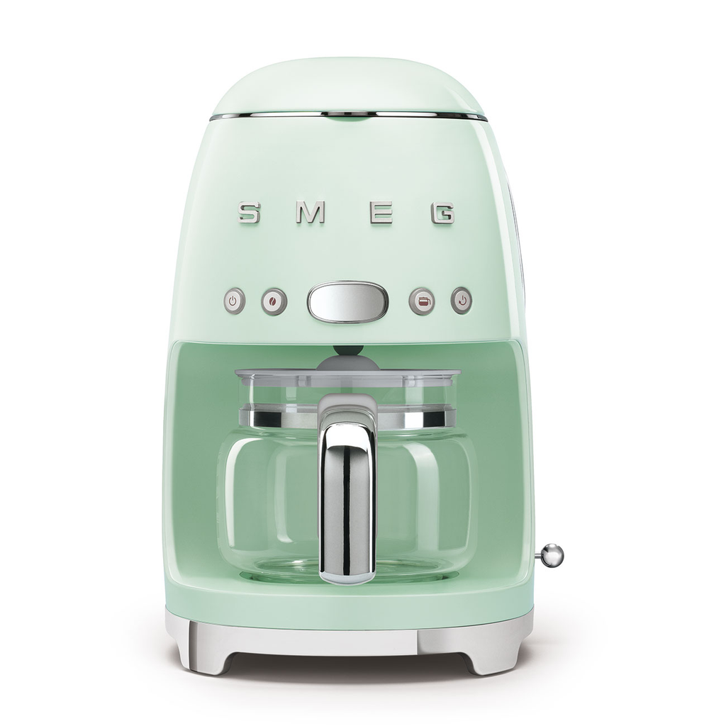 SMEG Drip Filter Coffee Machine, Pastel Green